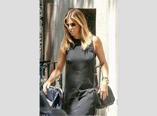 Jennifer Aniston skips wearing a bra as she steps out in