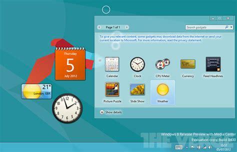gadget bureau windows 8 microsoft reportedly killing desktop gadget support in