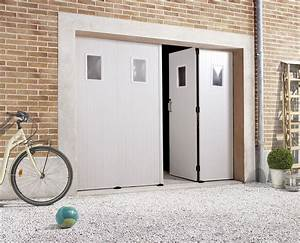 Prix d39une porte de garage en pvc 2018 travauxcom for Porte de garage coulissante avec porte entree pvc renovation