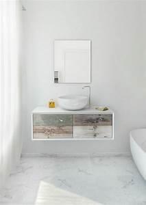 Salle De Bain Marbre Blanc : design interieur meuble vasque salle bain bois c rus teint vasque poser sol marbre meuble ~ Nature-et-papiers.com Idées de Décoration