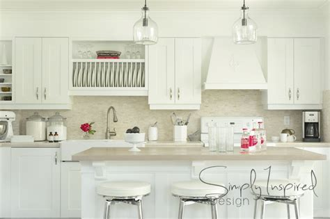 Built In Dish Rack   Transitional   kitchen   Simply