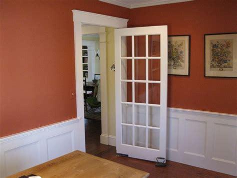 installing  swinging door  concord carpenter doors