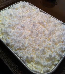 Moist Coconut Sheet Cake