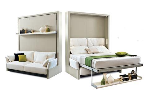 canapé lit pour studio le lit escamotable gain de place la maison du