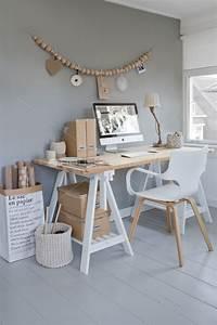 Boite En Bois Ikea : bureau avec des tr teaux est 2 boites en bois ikea ~ Dailycaller-alerts.com Idées de Décoration