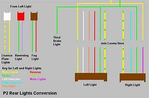 Rear Light Loom Wiring Diagram