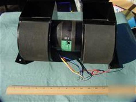 Double Squirrel Cage Fan Blower Air 500 Cfm 1725 Rpm