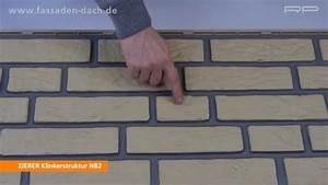 Profilbretter Kunststoff Aussen : klinkerelemente aus kunststoff von zierer youtube ~ Watch28wear.com Haus und Dekorationen