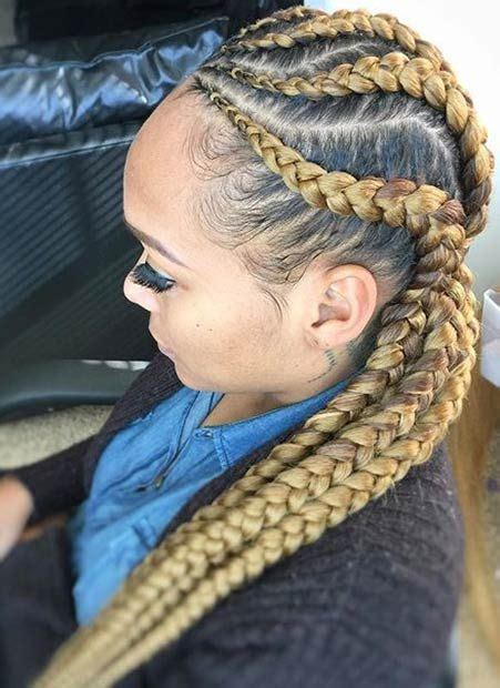 stylish ways  rock cornrows stayglam hairstyles