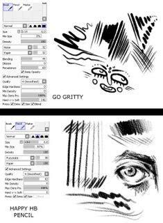 paint tool sai lineart settings google search