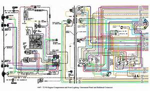 Auto Wiring Diagram 19671972 Chevrolet Truck V8 Engine
