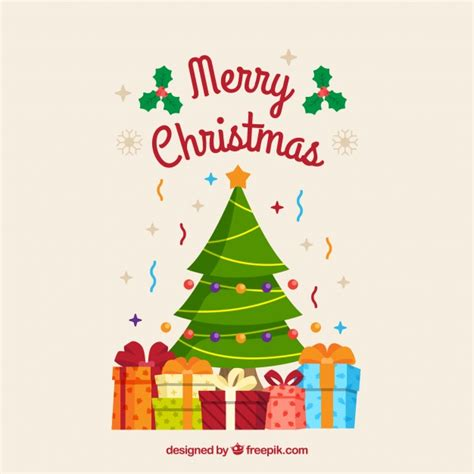 fondo de 225 rbol de navidad con cajas de regalo descargar