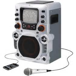 karaoke machine for gpx 5 5 quot monitor cd g karaoke party machine walmart com