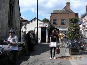 Whip-ma-whop-ma-gate the shortest street in York with the ...