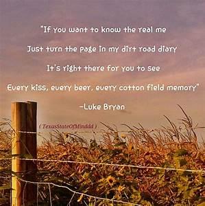 Dirt Road Diary- Luke Bryan | Country Music Lyrics