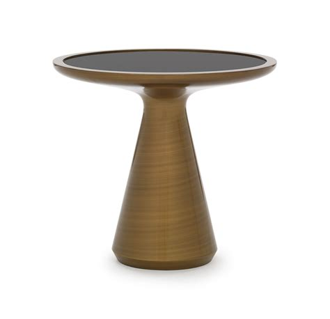 addie side table bronze
