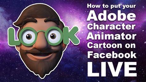 adobe character animator tutorial   put  cartoon