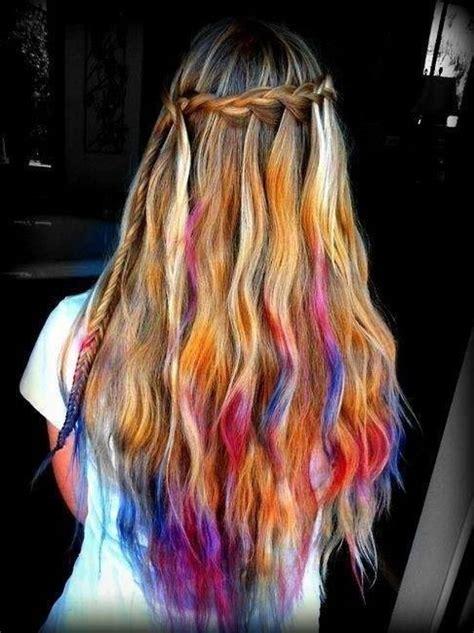 Best 25 Tie Dye Hair Ideas On Pinterest