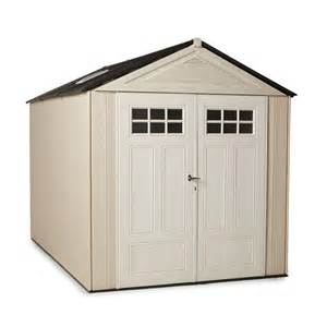 rubbermaid big max 11 ft x 7 ft ultra storage shed 1862548 the home depot