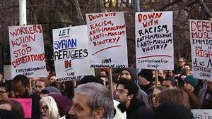 NYC: Thousands Protest Trump Plan to Impose Ban on ...
