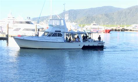 Fishing Boat Charters Cairns cairns reef fishing private charter boat day or night