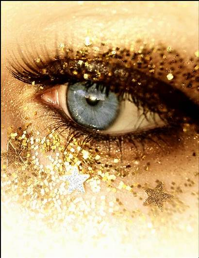 Eyes Glitter Gifs Graphics Animated Eye Gold