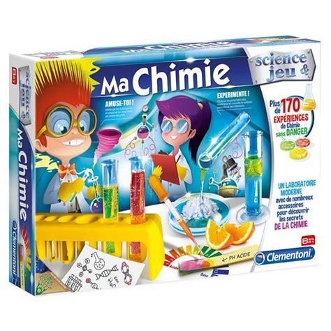 siege balancoire adulte ma chimie clementoni king jouet jeux scientifiques