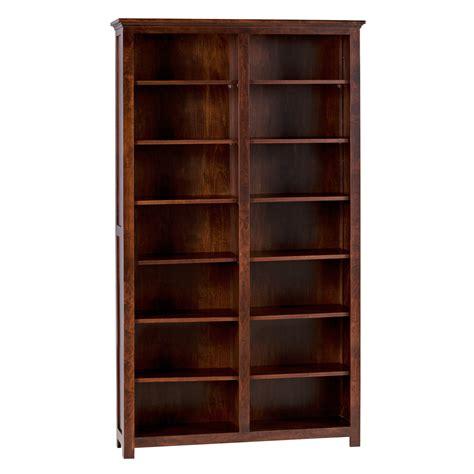 Split Shaker Bookcase 2 Fixed Shelves Hotzon Furniture