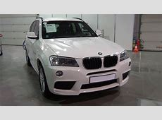 BMW X3 xDrive 20d 2013 White Exterior and Interior in 3D