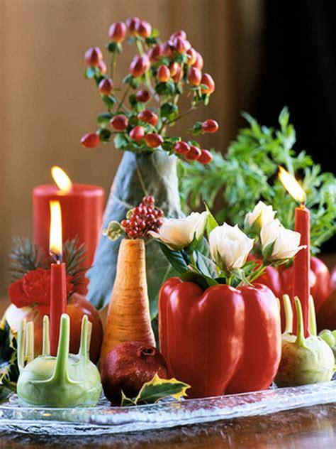elegant table decorations  thanksgiving holiday