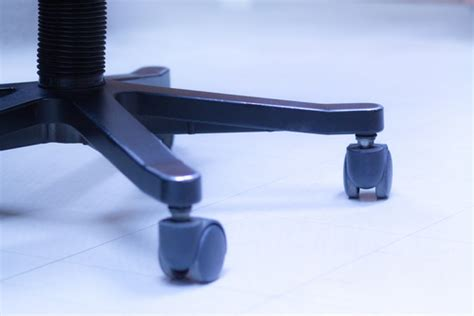 5 steps on how to clean office chair caster wheels