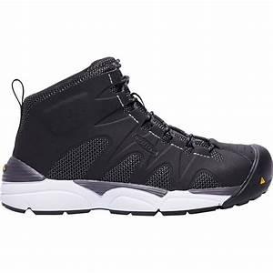 Keen Shoe Size Chart Keen San Antonio Mid Aluminum Toe Work Athletic Shoe K1018647