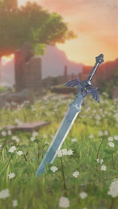 Botw Phone Wallpapers Zelda Legend Sword Master
