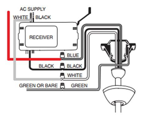 wiring a ceiling fan with remote and wall switch wiring how should i wire a ceiling fan remote where two
