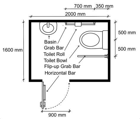 surface minimum bureau wheelchair access penang wapenang toilet wc for
