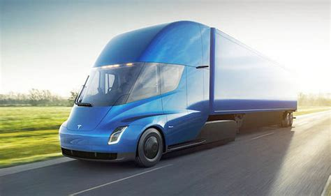 Tesla Semi Truck Will Have Up To 600 Miles Of Range Claims