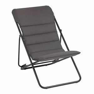 Lafuma Chaise Longue : catgorie chaise de jardin du guide et comparateur d 39 achat ~ Nature-et-papiers.com Idées de Décoration