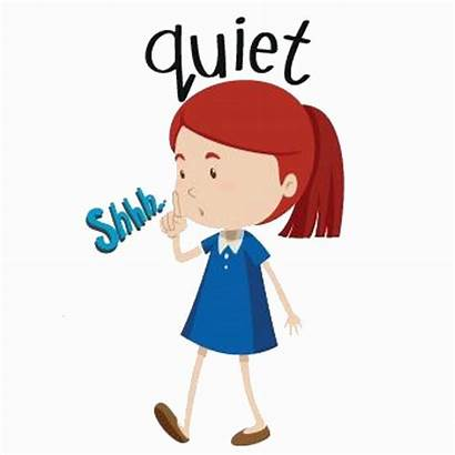 Quiet Clipart Student Shhh Silence Please Cliparts