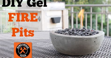 diy gel fire pits easy cheap sizzle  table tops