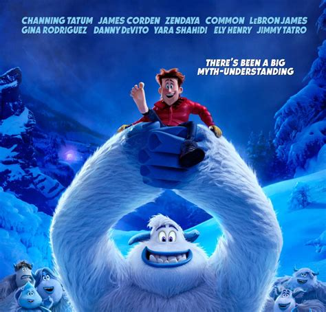 yeti discovers humans   smallfoot trailer