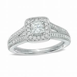 vera wang love collection 3 4 ct tw princess cut With vera wang wedding rings