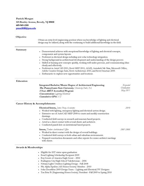 Eit On Resume by Cpep