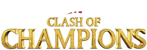 CLASH OF CHAMPIONS LOGO PNG UNDERLOVE EDITIONS by ...