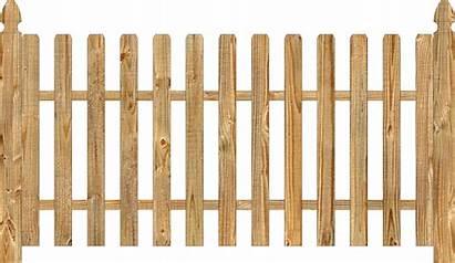 Fence Wood Picket Fences Section Railings Cedar
