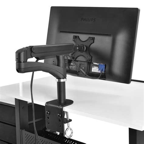 desk monitor mount 27 quot new lcd tv monitor desk mount stand bracket swivel