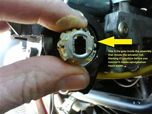 Ignition Cylinder Actuator Rod Replacement  97