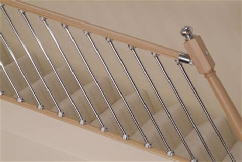 Chrome Banisters by Axxys Stairparts Chrome Handrail Fittings Axxys Balistrading