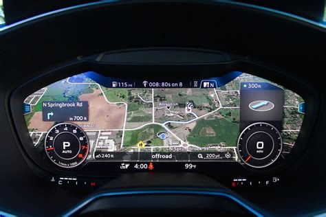 Digital Dashboard Cars by 2016 Audi Tt Drive Pictures Specs Performance