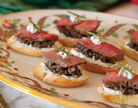 beef canape recipes beef wellington canapés recipe traditional worth it