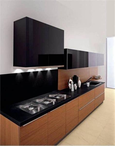 black and kitchen cabinets black wood kitchen szukaj w kitchen